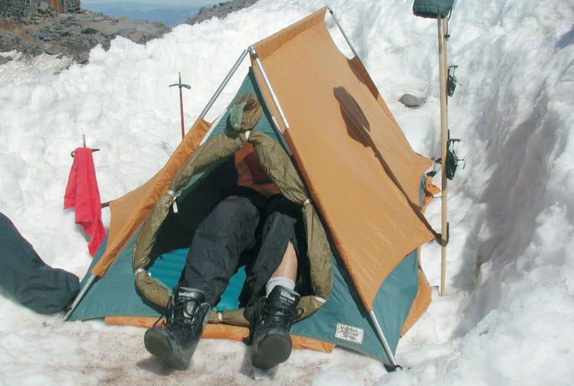 Don Jensenu0027s original Bombshelter Tent & Don Jensenu0027s original Bombshelter Tent u2013 Rivendell Mountain Works